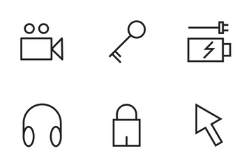 Internet Vector Line Icons Icon Pack