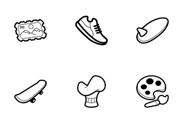 Interst & Hobby Icon Pack
