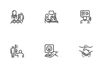 Introduction Speech Icon Pack