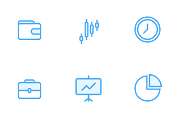 Investing And Finance Icon Pack