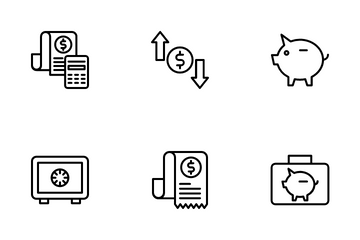 Investment And Finance Icon Pack