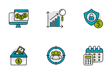 Investment Growth Icon Pack