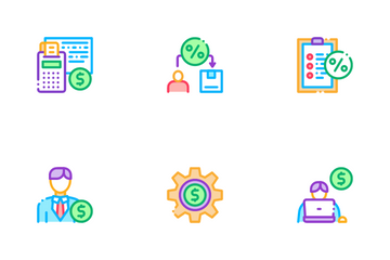 Investor Financial Icon Pack
