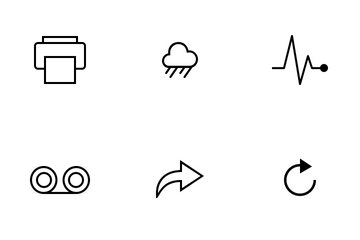Ionicons - Line Icon Pack