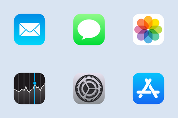 IOS 11 Icon Pack