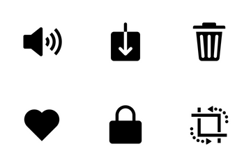 IOS 11 UI Elements Vol 2 Icon Pack