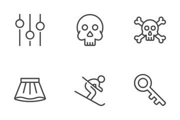 Ios Edge Line Icon Pack
