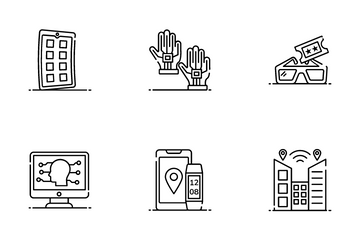 IOT And High Tech Icon Pack