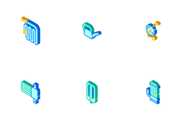 Irrigation System Icon Pack