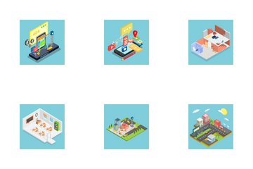 Isometric Design Icon Pack
