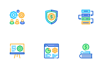 It Manager Developer Icon Pack