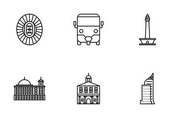 Jakarta City Icon Pack