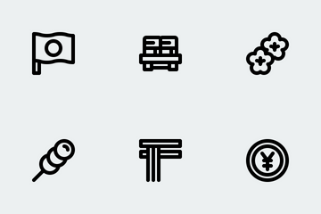 Japan Culture Icon Pack