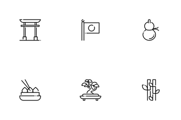 Japanese Culture Icon Pack