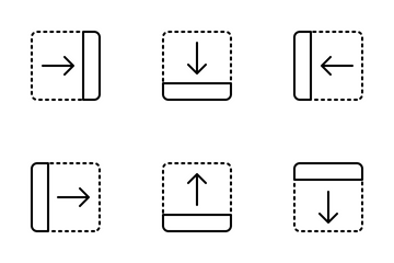 Jellycons - Outline - Arrows Vol.3 Icon Pack