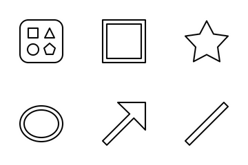 Jellycons - Outline - Design Vol.3 Icon Pack