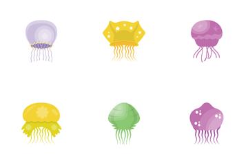 Jellyfish - Flat Icon Pack