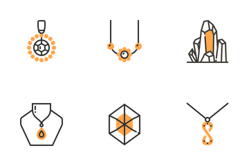 Jewellery Elements Icon Pack