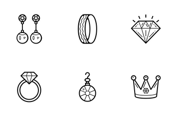 Jewelry  Vector Icons 1 Icon Pack