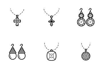 Jewelry Vector Icons 3 Icon Pack