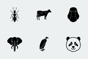 Animal (GLYPH) Icon Pack