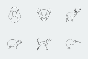 JI-Animal (LINE) Icon Pack