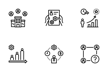Job Application Icon Pack