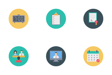 Job Interview Icon Pack