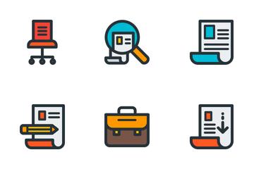 Job & Resume Icon Pack