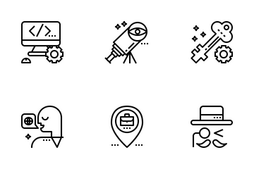 Job Resume Icon Pack