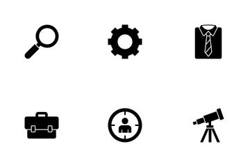 Job Resume Vol 1 Icon Pack