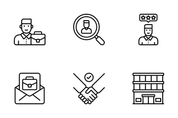 Job Services Icon Pack