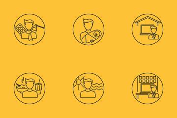 Job Statuses Icon Pack