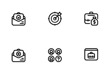 Job Vacancy Icon Pack