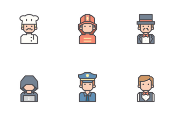 Jobs & Occupation Icon Pack