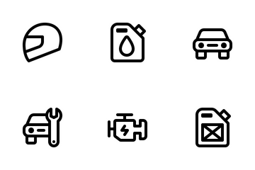 Jumpicon - Automotive (Line) Icon Pack