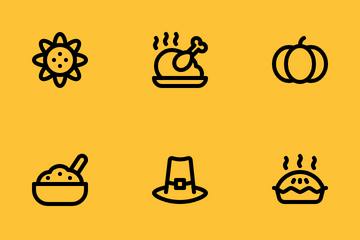Jumpicon - Thanksgiving (Line) Icon Pack