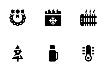 Jumpicon - Winter (Glyph) Icon Pack