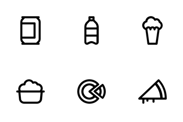 Junk Food Icon Pack