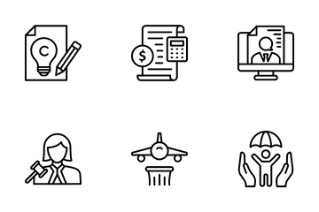 Justice And Law Icon Pack