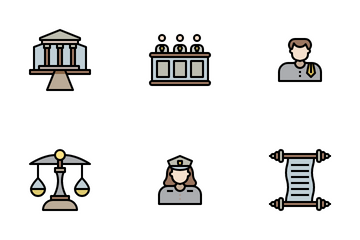Justice Collection Icon Pack