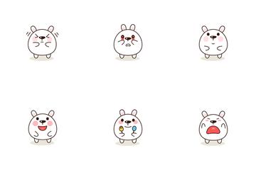Kawaii Characters Icon Pack