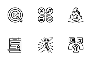 Key Performance Indicators Icon Pack