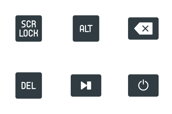 Keyboard  Icon Pack