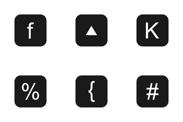 Keyboard Buttons  Icon Pack