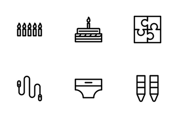 Kid And Amusement Icon Pack