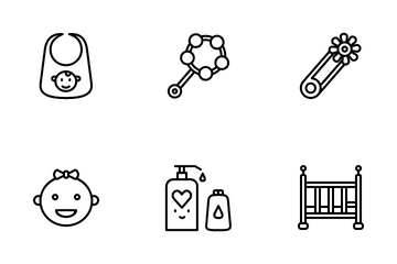 Kids And Baby Icon Pack