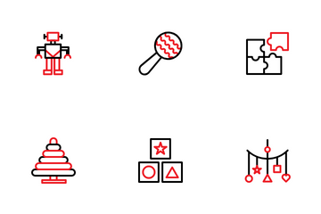 Kids Toys Icon Pack