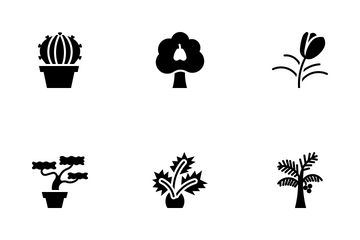 Kind Of Tree Icon Pack