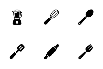 Kitchen And Cooking Icon Pack